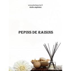 Huile végétale de pépins de raisins