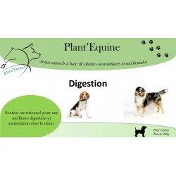 """Plant'Equine"" Chiens Digestion drainage"