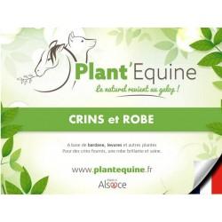 """Plant'Equine"" Crins Robe"